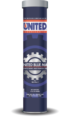 United Blue Max Synthetic Blend Grease NLGI No. 2